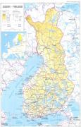 Finnország térképe
